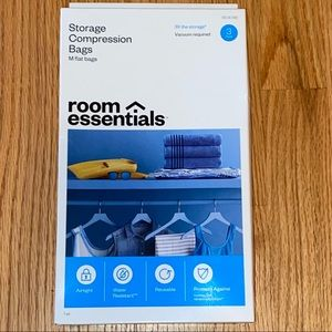 Room Essentials Target Storage Compression Bags